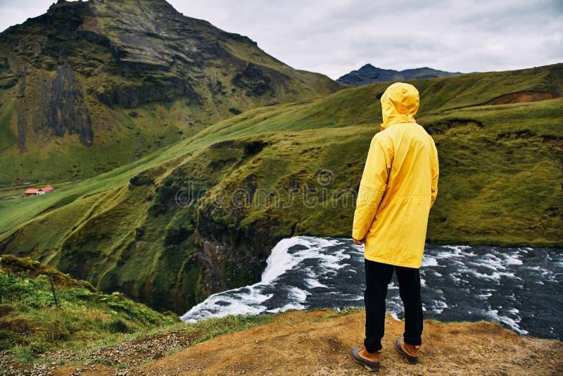 Река Skoga на юге Исландии стоковые фотографии rf