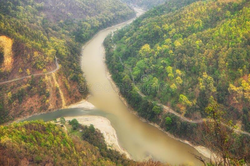 Река Teesta стоковые изображения