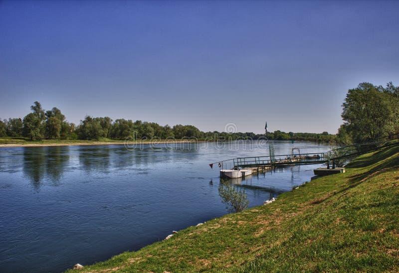 Река Ticino стоковые изображения rf