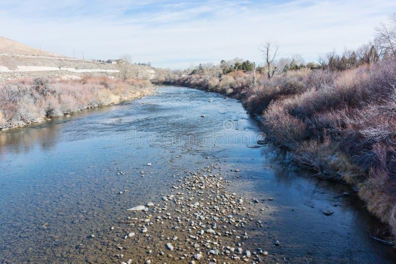 Река Truckee стоковое изображение rf