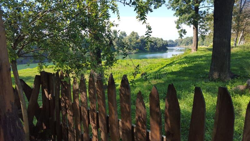 Река Una стоковое изображение rf