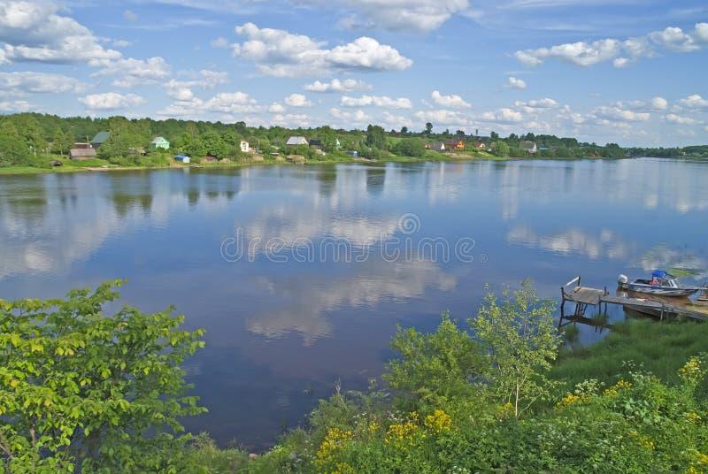 Река Volkhov стоковые фото