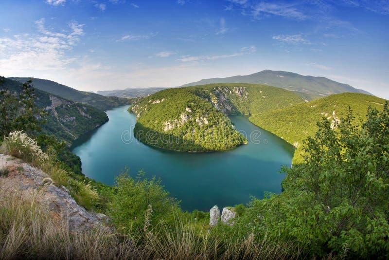 Река Vrbas стоковое фото rf
