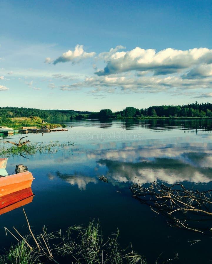 Река Yaiva стоковые изображения