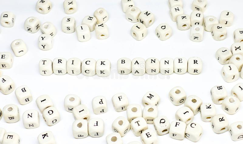 Реклама онлайн электронной почты Ecommerce ведя блог и социальное знамя фокуса abc условия маркетинга средств массовой информации стоковое изображение