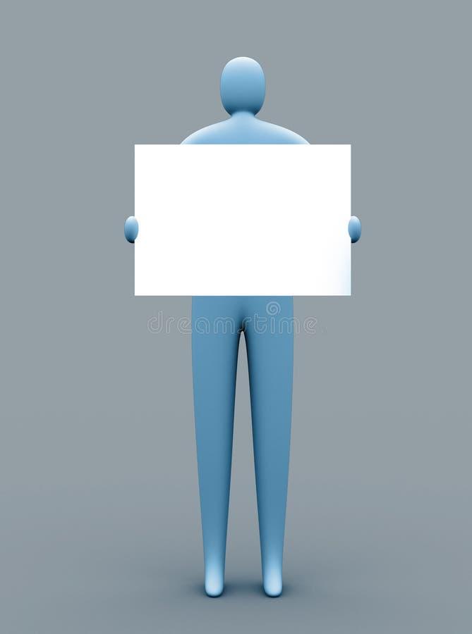 рекламировать свободно иллюстрация вектора