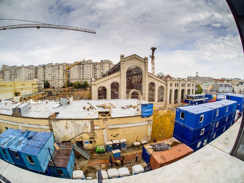 Реконструкция электростанции к академии современного искусства стоковые фотографии rf