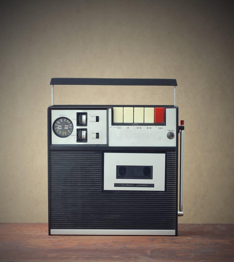Рекордер кассеты стоковое изображение