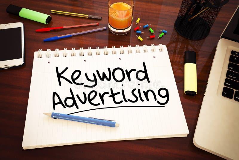 Реклама ключевого слова бесплатная иллюстрация