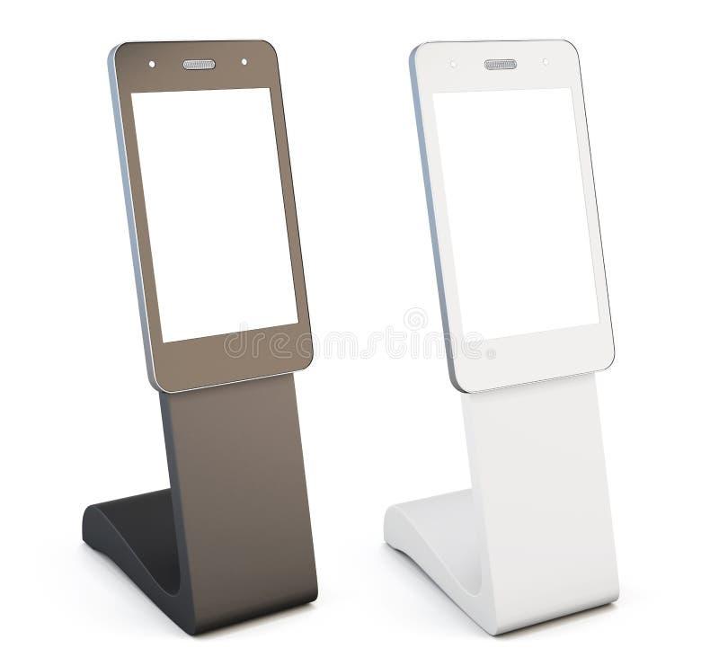 Реклама, справочный стол на белой предпосылке 3D r бесплатная иллюстрация