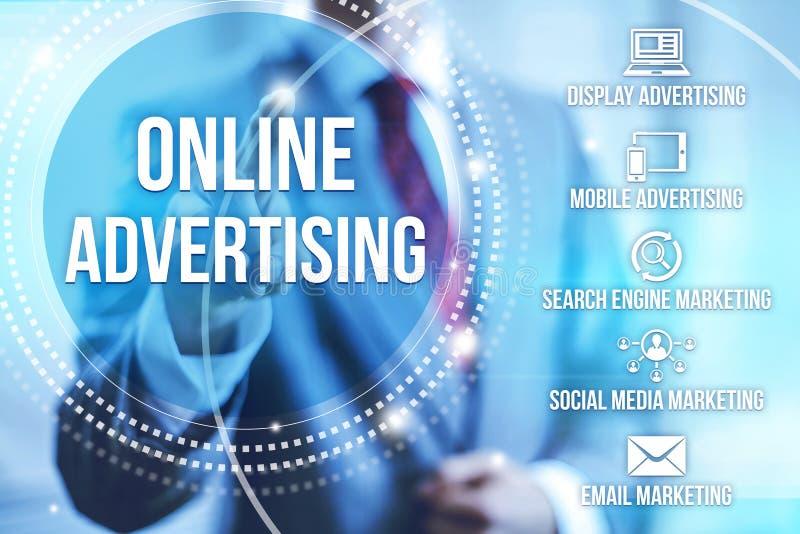 рекламировать он-лайн