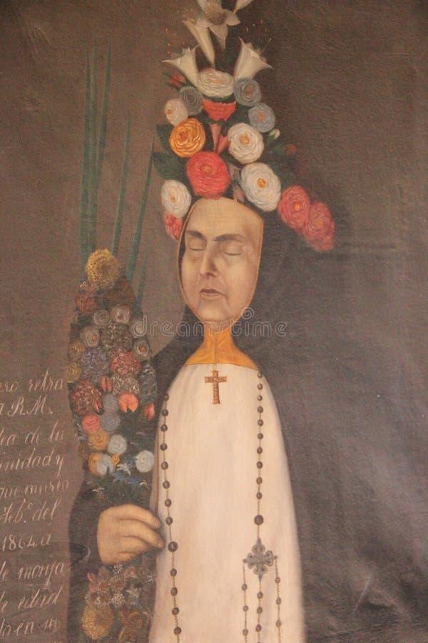 Религиозная картина на церков стоковые фото