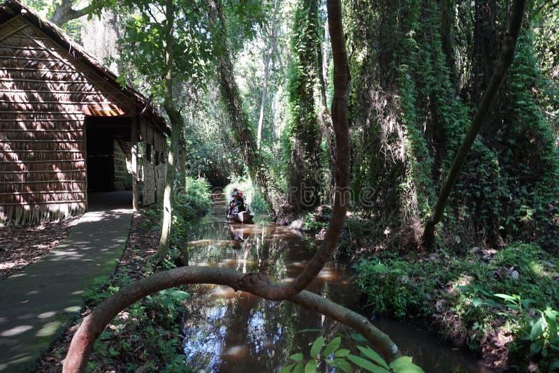 Реликвия Xeo Quyt или Xeo Quit в провинции Донг Тап стоковая фотография rf