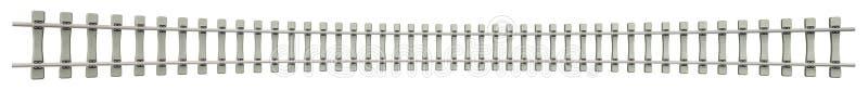 Рельсы с конкретными слиперами стоковое фото rf