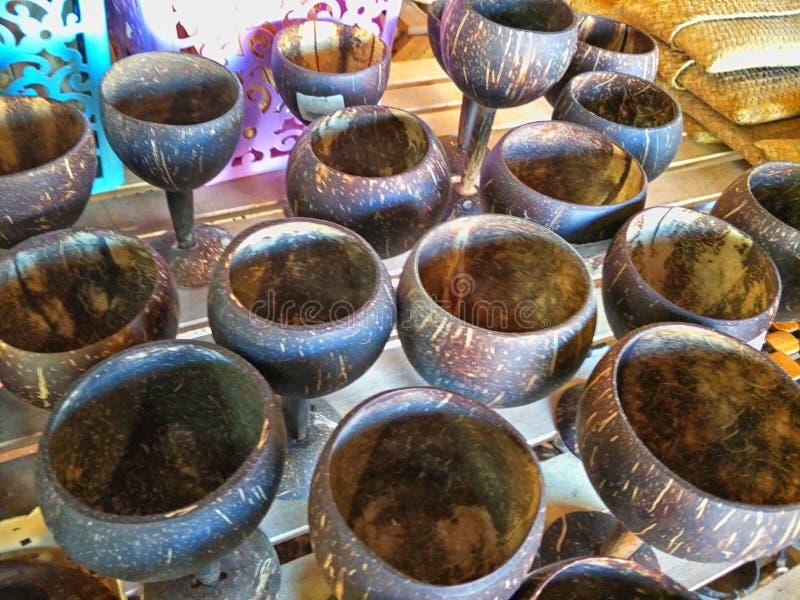 Ремесленничество от кокоса стоковое фото