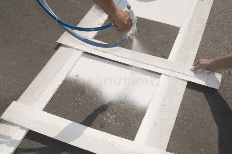 ремонтировать crosswalk стоковое изображение