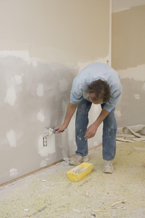 ремонтировать sheetrock стоковые изображения rf