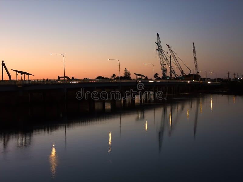 Ремонты моста стоковое фото