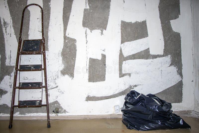 ремонт Лестница стоковая фотография