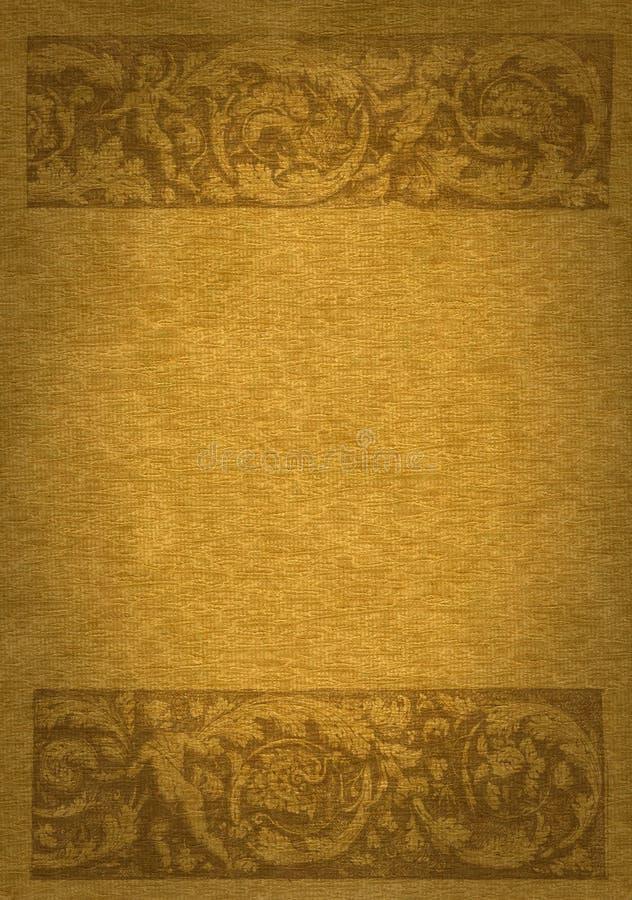 ренессанс знамени иллюстрация вектора