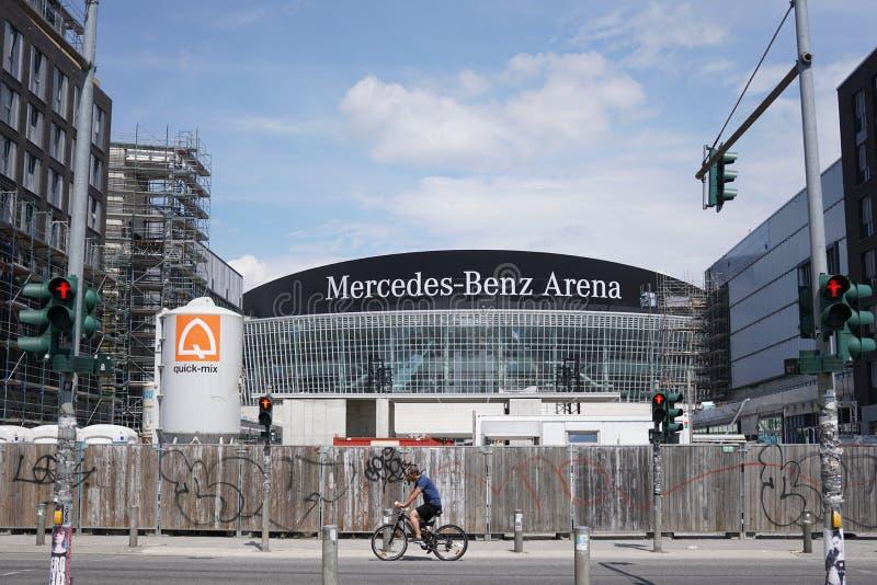 Реновация арены Мерседес-Benz в Берлине, Германии стоковое фото rf
