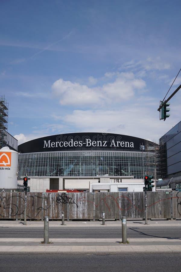 Реновация арены Мерседес-Benz в Берлине, Германии стоковые фотографии rf