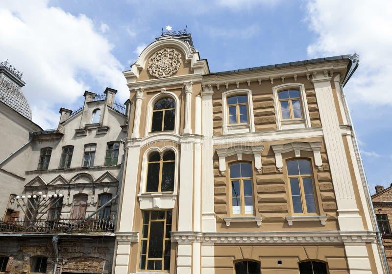 Реновация синагоги стоковые изображения