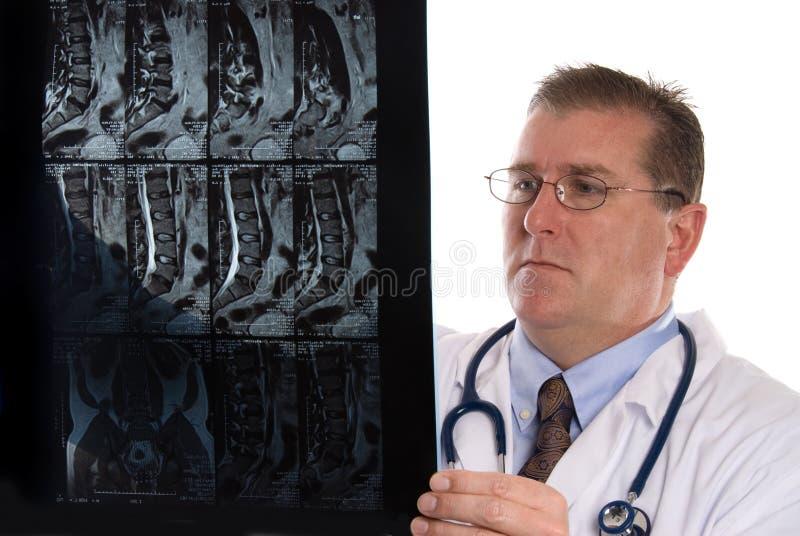 рентгеновский снимок доктора стоковая фотография rf