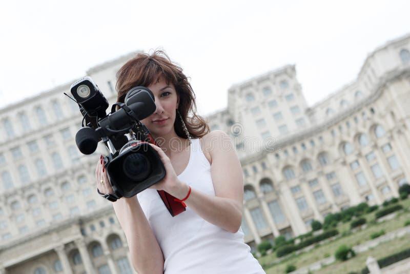 репортер стоковые фотографии rf