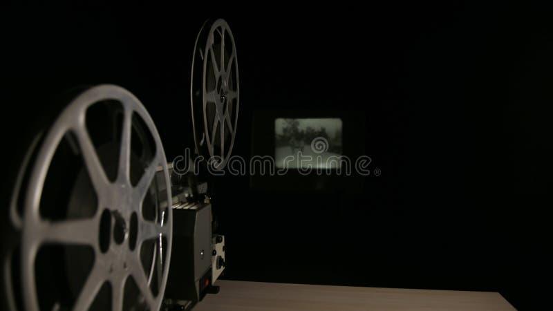 репроектор пленки 16mm стоковые изображения