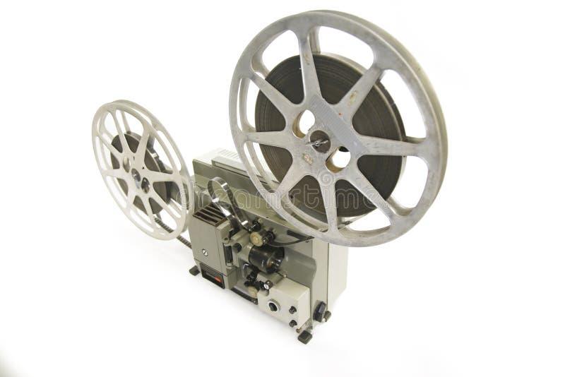 репроектор пленки 16mm стоковое фото rf