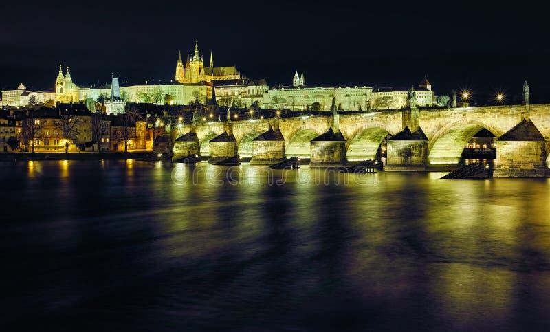 республика charles чехословакская prague моста стоковая фотография