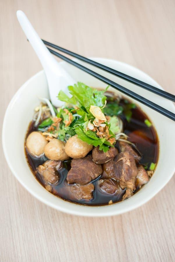 ресторан лапшей еды говядины китайский стоковые изображения