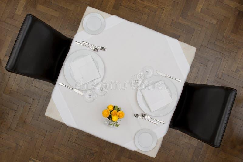 ресторан детали стоковое изображение