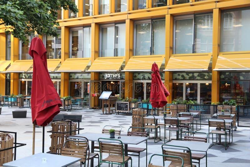 Ресторан Джемми Оливера стоковые изображения rf