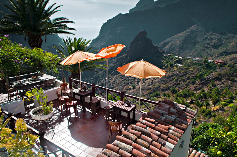 ресторан малюсенький стоковое изображение