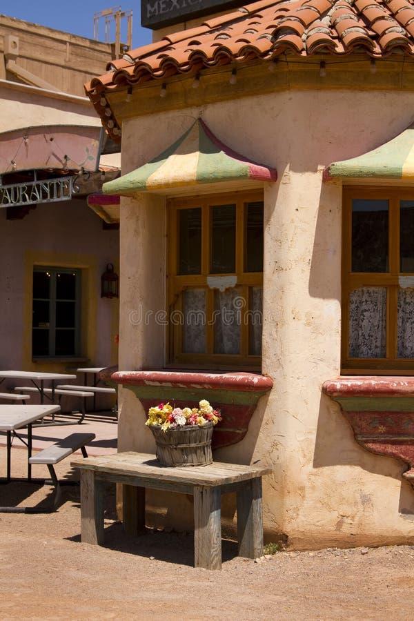 ресторан мексиканца еды стоковые изображения rf