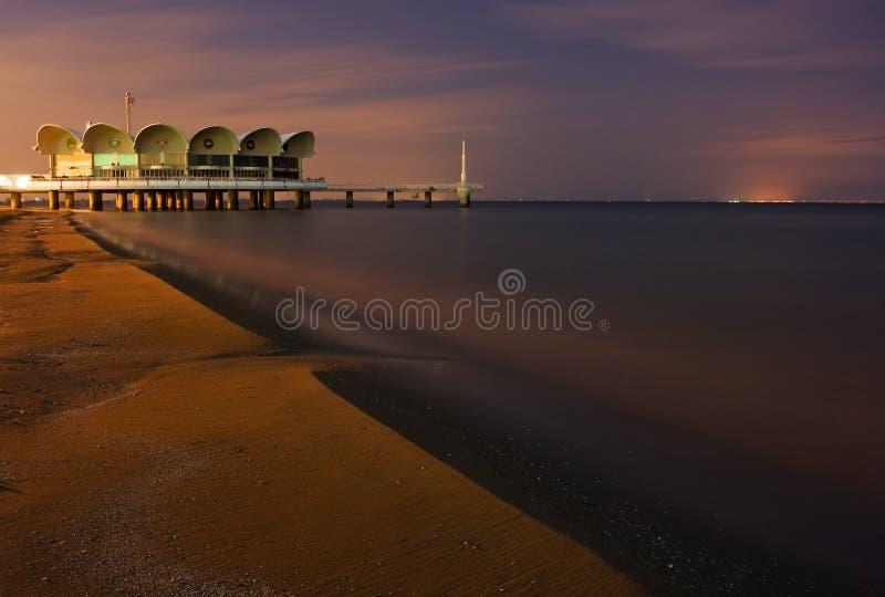 ресторан океана стоковое изображение rf