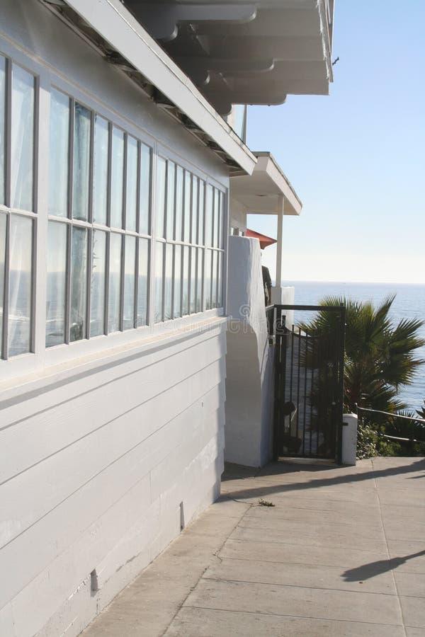 ресторан пляжа стоковые фотографии rf