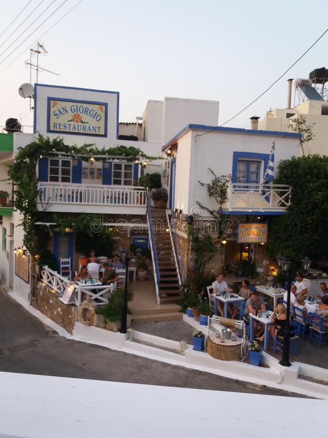Ресторан Сан Giorgio стоковые фото