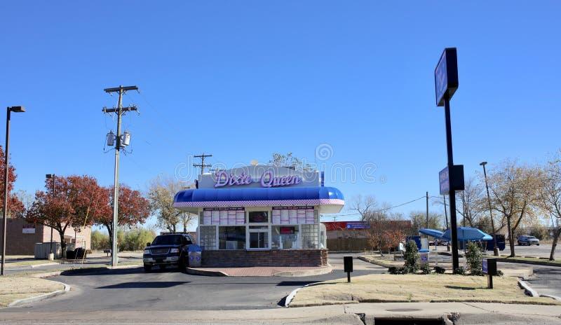 Ресторан фаст-фуда ферзя Dixie стоковое фото rf