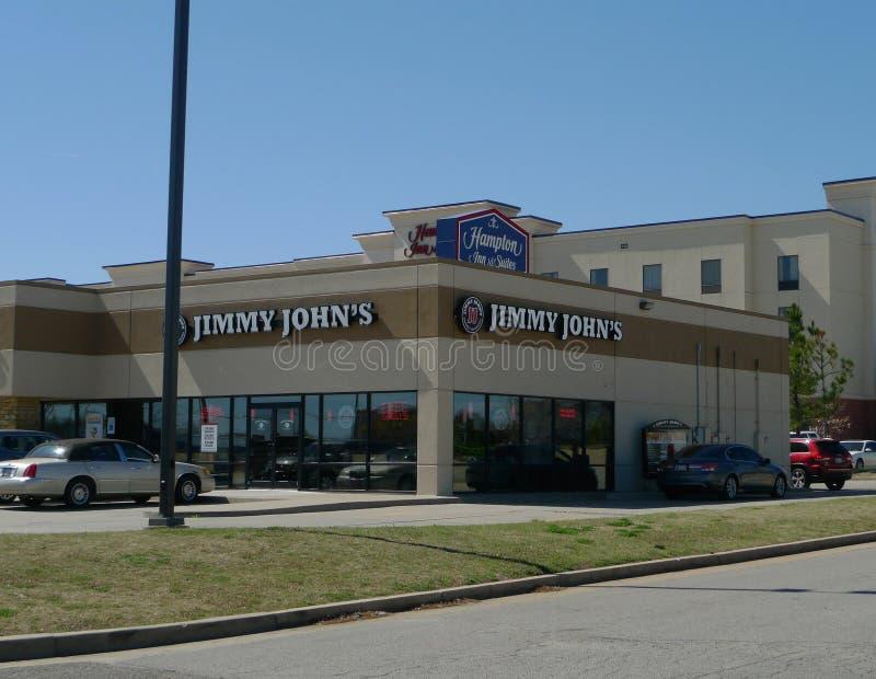 Ресторан ` s Джимми Джона, Оклахомаа-Сити, Оклахома стоковое изображение