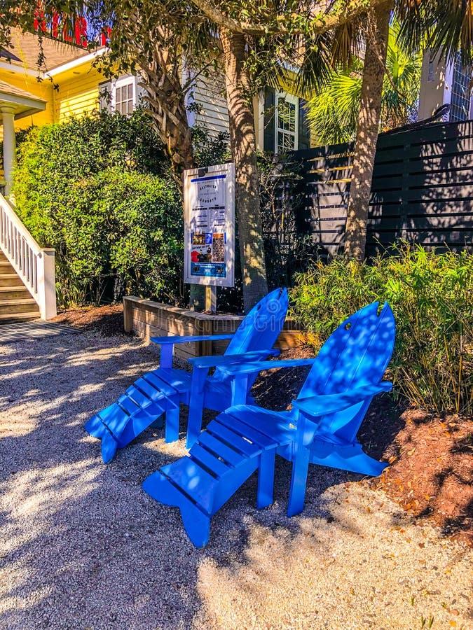 Ресторан Saltwater Cowboys, Shem Creek, Mount Pleasant, SC стоковое изображение