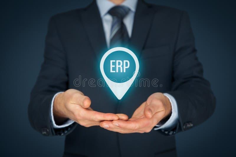 ресурс запланирования erp предпринимательства стоковое изображение rf