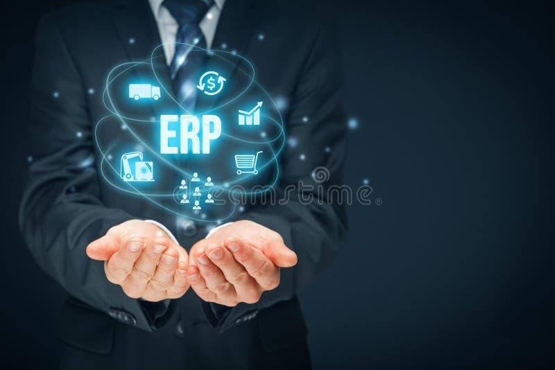 ресурс запланирования erp предпринимательства стоковые фотографии rf