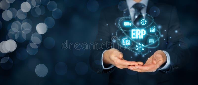 ресурс запланирования erp предпринимательства стоковые фото