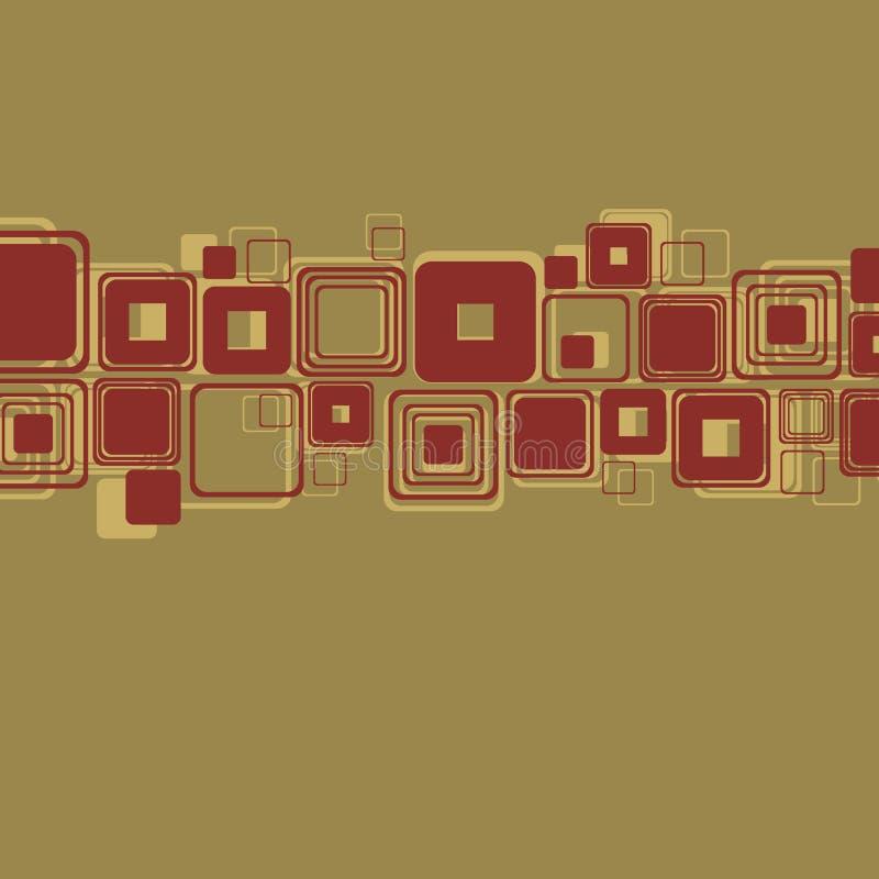 Ретро абстрактный вектор предпосылки бесплатная иллюстрация