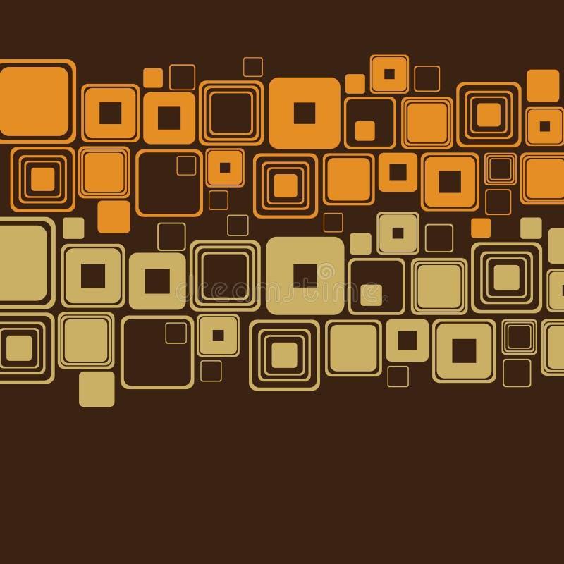 Ретро абстрактный вектор предпосылки иллюстрация вектора