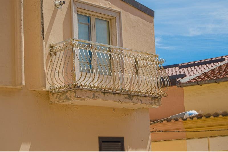 Ретро балкон стоковые изображения rf