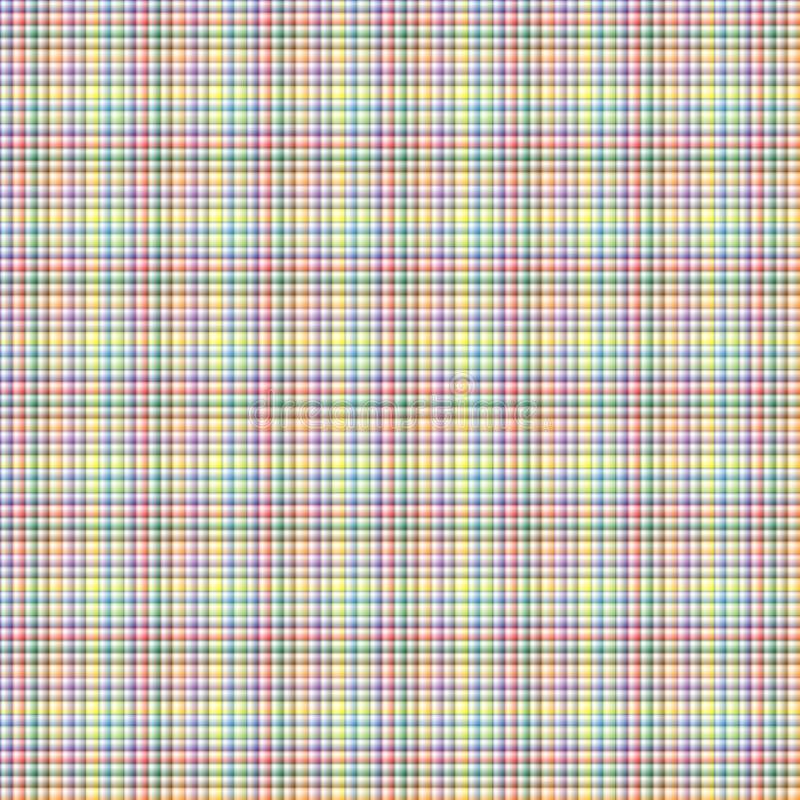 Безшовная картина нашивки вектора - цветы радуги бесплатная иллюстрация